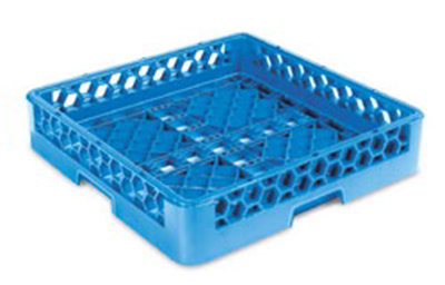 Carlisle RB14 Full-Size Dishwasher Open/Bowl Rack - Polypropylene, Blue