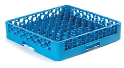 Carlisle RTP14 Full-Size Dishwasher Plate/Tray Peg Rack - Blue