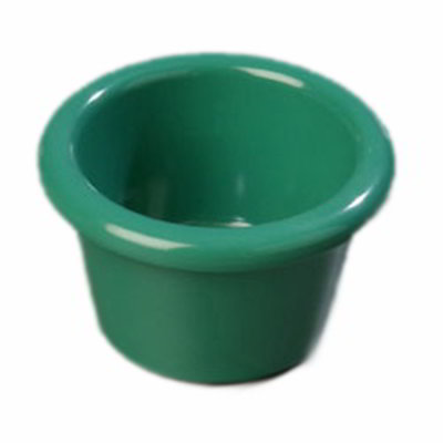 Carlisle S27509 1-1/2-oz Ramekin - Melamine, Meadow Green