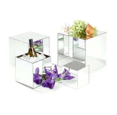 "Carlisle SMMC1223 12"" Square Mirror Cube - Acrylic"