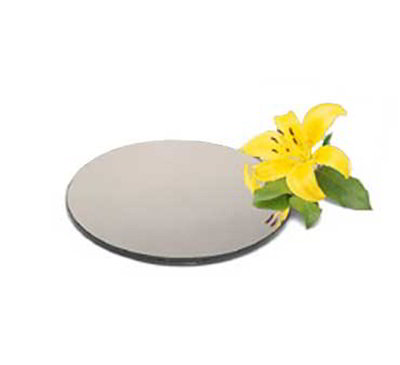 "Carlisle SMR1623 16"" Round Display Tray - Mirrore"
