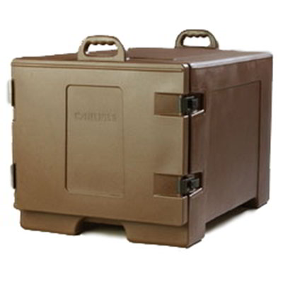 Carlisle TC1826N01 Cateraide Sheet Pan/Tray Carrier - Side-Loader, Polyethylene, Brown