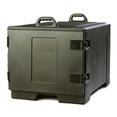 Carlisle TC1826N03 Cateraide Sheet Pan/Tray Carrier - Side-Loader, Polyethylene, Black
