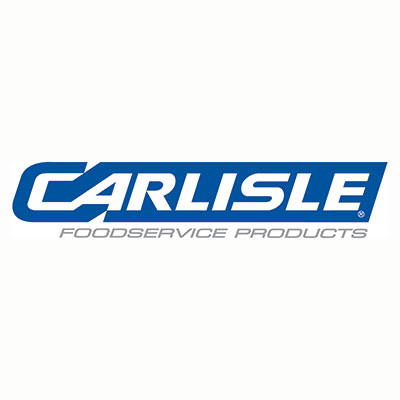 "Carlisle MY14003 4"" Top Loader Carrier Pan - Polyethylene, Black"