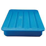 Carlisle PC66014 Polyethylene CaterCooler w/ Non-Toxic Gel, Blue