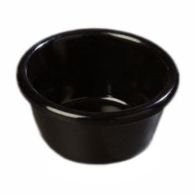 Carlisle S28003 3-oz Smooth Melamine Ramekin, Black