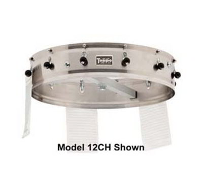 "Carlisle 3816CH 18"" Order Wheel - Ceiling-Mount, Stainless"