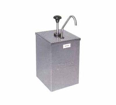 Carlisle 386010 Condiment Pump Dispenser - 7-1/4x7-1/4x15-1