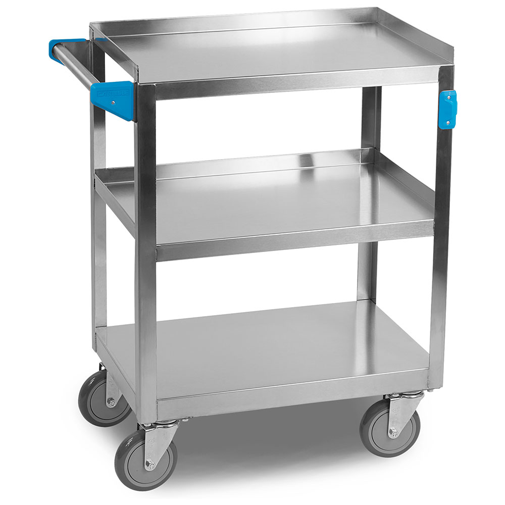 "Carlisle UC3031524 Utility Cart - 300-lb Capacity, 24x15-1/2x36"" Stainless"