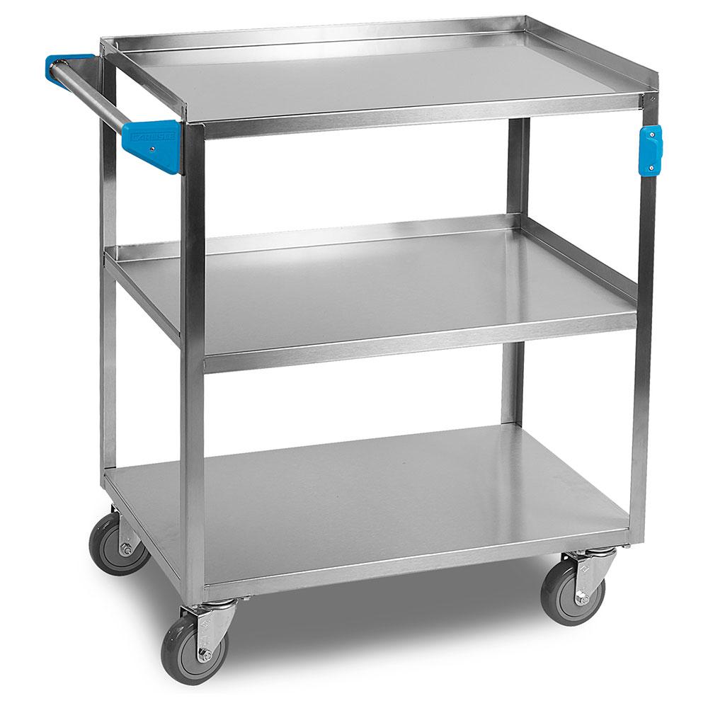 "Carlisle UC3031827 Utility Cart - 300-lb Capacity, 27x18x34"" Stainless"