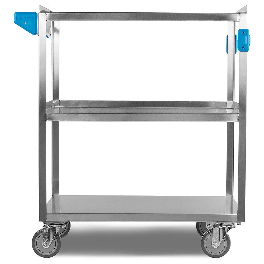 "Carlisle UC5031827 Utility Cart - 500-lb Capacity, 27x18x36"" (3)Shelves, Stainless"