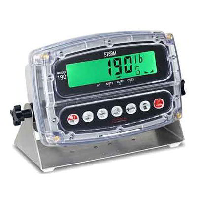 Detecto 190 LCD Display Digital Weight Indicator For Be