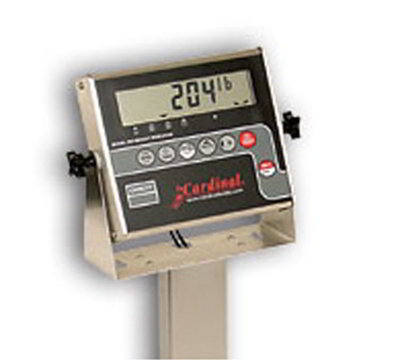 Detecto 204 Digital Weight Indicator for Floor Hugger Model w/ 1-in LCD Display