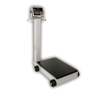 Detecto 8852F-205 Digital Receiving Scale, .6-in LED Display, LB/KG Switch, 1000 x .5-lb