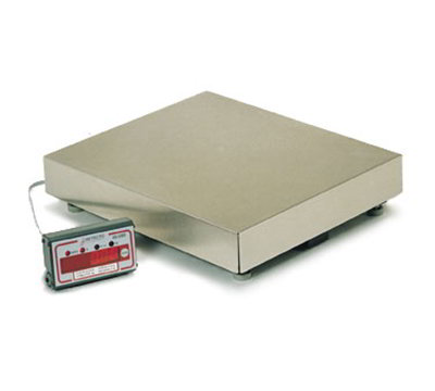 Detecto AS-333D Point of Sale Counter Model Scale w/ LED Di
