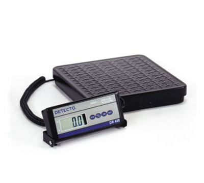 Detecto DR150 Digital Shipping Receiving Scale w lb kg Conversion, 150 x .2-lb