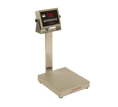 Detecto EB-60-205 Digital Bench Scale, lb/kg Conversion, 205 Weight Display, 60 x .02-lb