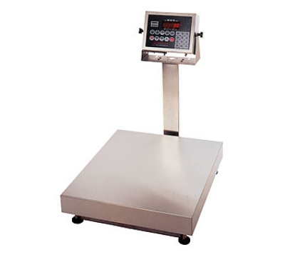 Detecto EB-60-210 Digital Bench Scale, lb/kg Conversion, 210 Weight Display,