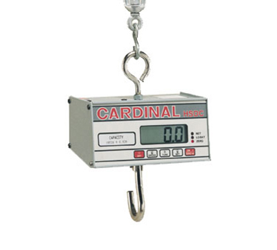 Detecto HSDC-200 Hanging Scale w/ 1-in Digital Readout, Battery Powered, 200x.1-lb Capacity