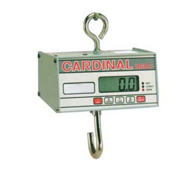 Detecto HSDC-40KG Hanging Scale w/ 1-in Digital Readout, Battery Powered, 40x.02-kg Capacity