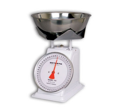 Detecto T25KPB Top Loading Dial Portion Scale w/ Stainless