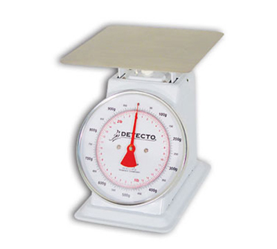 Detecto T1KP Top Loading Dial Portion Scale w/ Enamel
