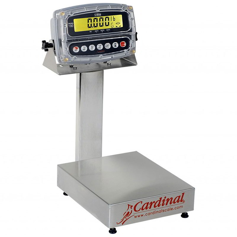 Detecto EB-15-190 Digital Bench Scale, LCD D