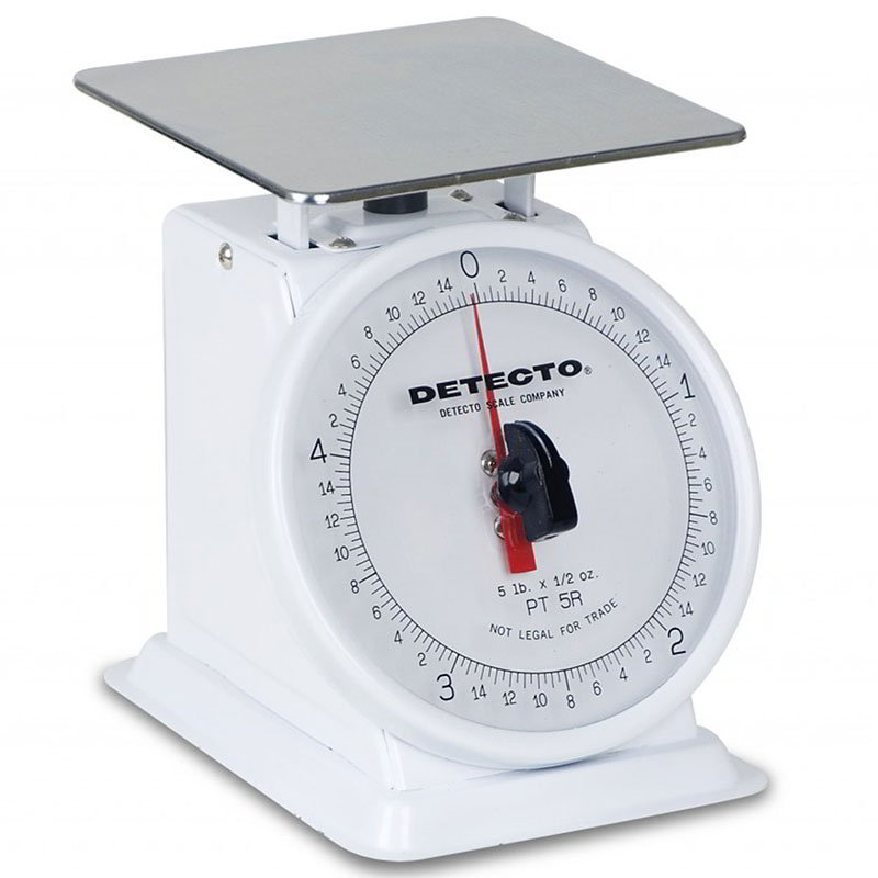 Detecto PT2 Petite Top Loading Counter Scale w/ 6-in Dial, 32 x .25-oz Capacity