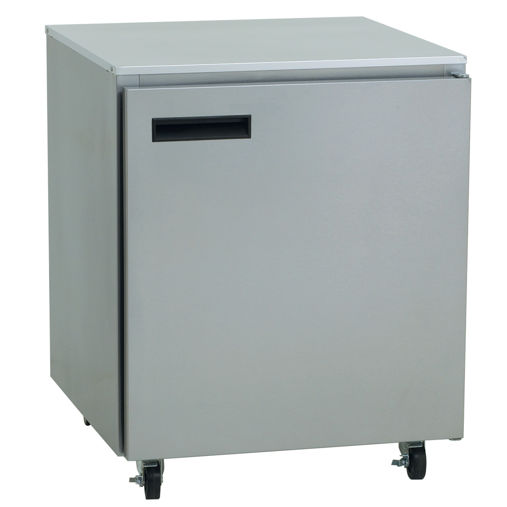 Delfield 407 27 in Undercounter Freezer w/ Stainless Top