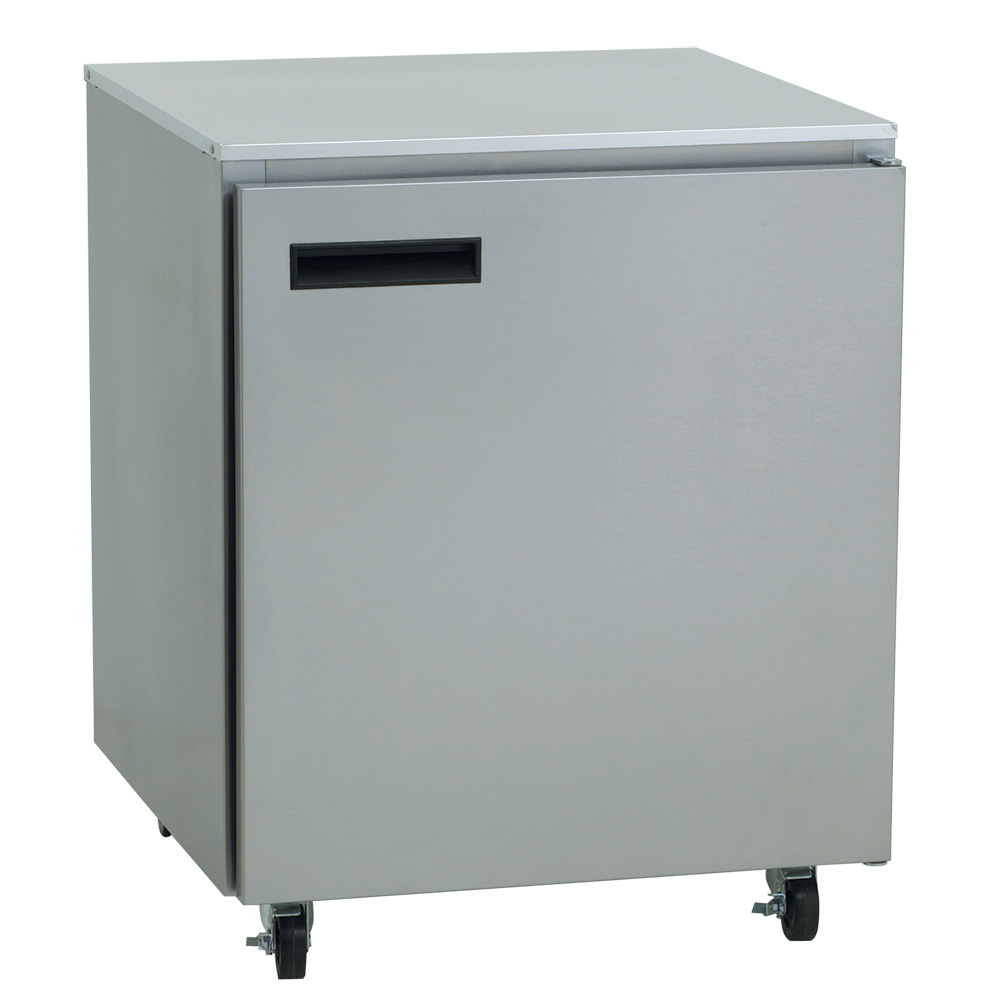 Delfield 407-CA 27 in Undercounter Freezer w/ Sub-Top