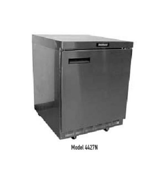 "Delfield 4427N 27"" Work Top Refrigerator w/ (1) Section, 115v"