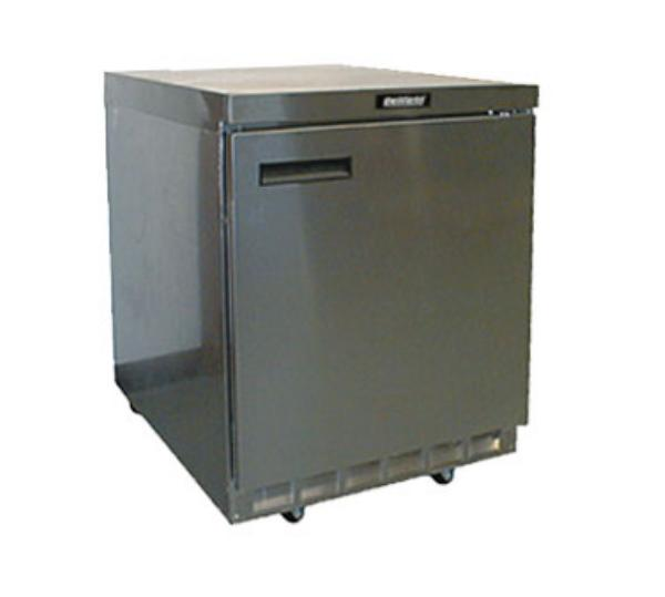 Delfield 4432N 32 in Refrigerated Base, Flat Top, 1 Section