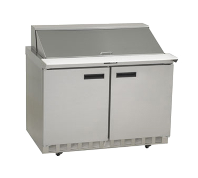 Delfield 4448N-18M 48 in Salad Top Refrigerator, 18 Pan, Mega Top