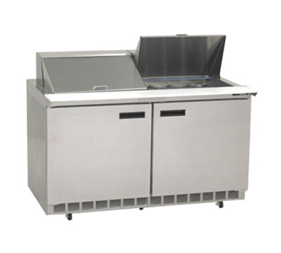 "Delfield 4460N-24M 60"" Sandwich/Salad Prep Table w/ Refrigerated Base, 115v"
