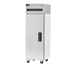 "Delfield 6025XL-S 25.5"" Single Section Reach-In Refrigerator, Solid Door, 115v"