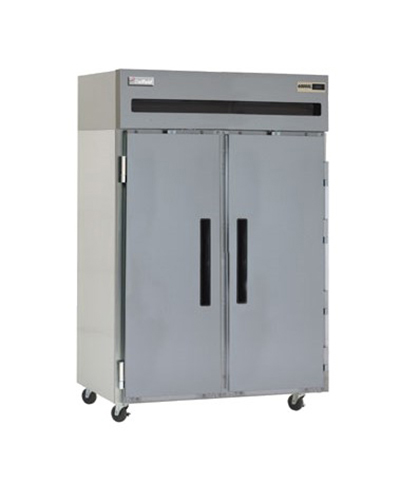 Delfield 6051XL-S Reach In Refrigerator - 43.5-cu ft, Top Mounted, 2-Solid Hinged Full Doors