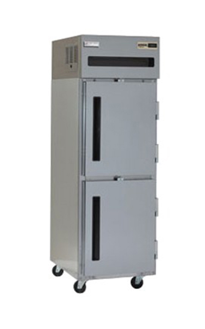 Delfield 6125XL-SH Reach In Freezer - 20-cu ft, Top Mounted, 1-Solid Hinged Half Doors