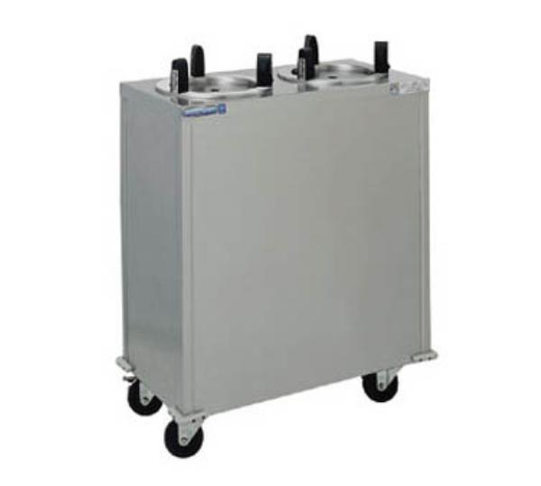 Delfield CAB2-1200 Dish Dispenser w/ 2-Tubes, Maximum 12-in Dish