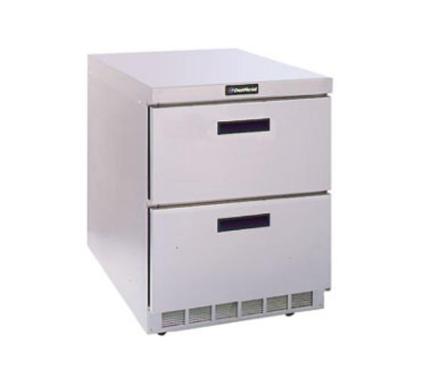 Delfield D4427N 27 in Refrigerated Base, Flat Top, 1 Section, Drawers
