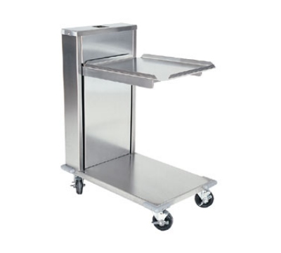 Delfield CT-1418 Single Self-Elevating Tray Dispenser For 14 x 18-in Trays, Cantilever Style
