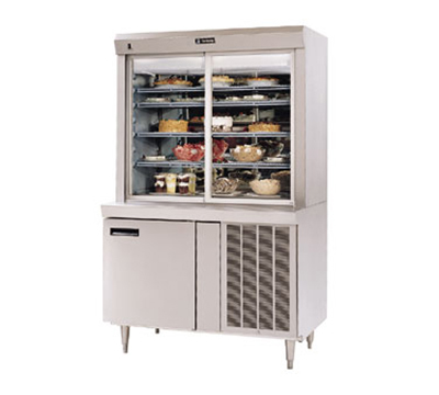 Delfield F15SR72N 1151 Display Case, Remote w/ 4-Shelves & Refrigerated Base, 72x24-in, 115/1 V