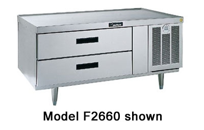 Delfield F2748 48-in Remote Freezer Equipment Stand w/ 2-Drawers, 1-Section, 115 V