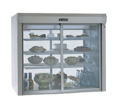 Delfield F5MR72D 72-in Drop-In Remote Refrigerated Glass Counter Serve-Case, 115 V