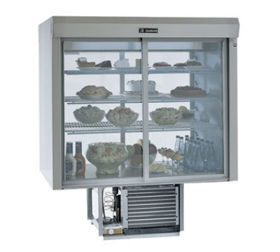 Delfield F5SC72D 72-in Refrigerated Drop-In Counter Serve-Case Top w/ Glass Back, 115 V
