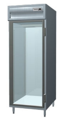 Delfield SSF1-GH 1-Section Reach-In Freezer w/ Half Glass Door, 24.96-cu ft