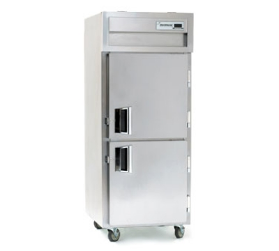 Delfield SSH1-SH 1-Section Hot Food Cabinet w/ Half Solid Door, 24.96-cu ft, Stainless