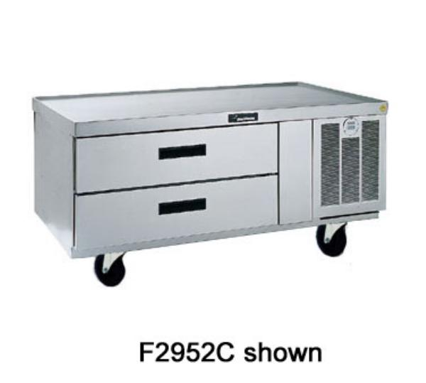 Delfield F2980C 80-in Refrigerated Lo-Profile Equipment Stand w/ 4 -Drawers
