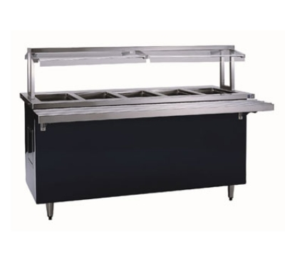 Delfield KH-5-NU 1203 74-in Hot Food Serving Counter w/ 5-Pan Capacity, 120/208-230/3 V