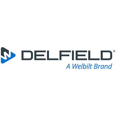 "Delfield B36 Tray Slide, 12"" Deep, V Fold-Down, 14-ga Stainless"