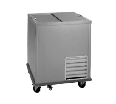Delfield N-1530 12-Crate Milk Cooler - Top Slide Doors, 115v
